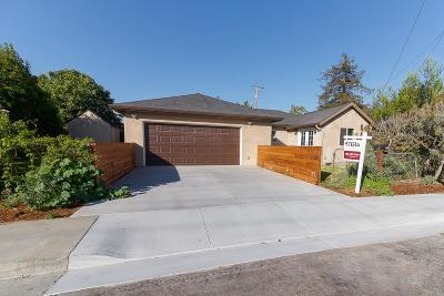Santa Clara Single Family Home For Sale: 4390 Bassett Street