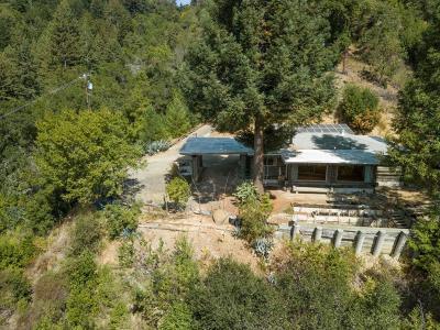 Los Gatos Single Family Home For Sale: 23049 Santa Cruz Highway