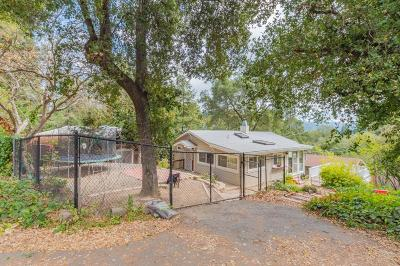 Los Gatos Single Family Home For Sale: 17945 Madrone Drive