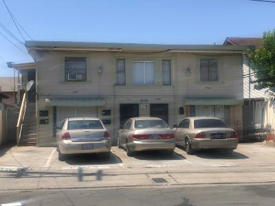 Vallejo Multi Family Home For Sale: 1705 A Sutter Street