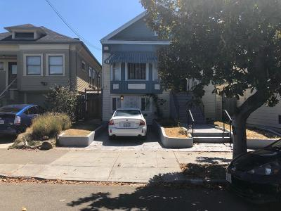 Oakland Single Family Home For Sale: 977 60th Street