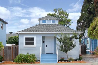 Santa Cruz Single Family Home Pending Show For Backups: 109 Campbell Street