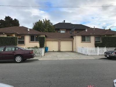 San Mateo Multi Family Home For Sale: 310 Monte Diablo Avenue