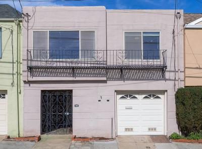 San Francisco Single Family Home For Sale: 344 Thornton Avenue