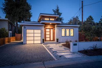 Palo Alto Single Family Home For Sale: 3751 El Centro Street
