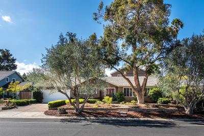 Los Gatos Single Family Home For Sale: 16790 Chirco Drive