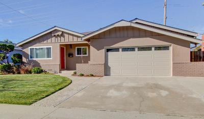 Santa Clara County Single Family Home For Sale: 1587 Princeton Drive