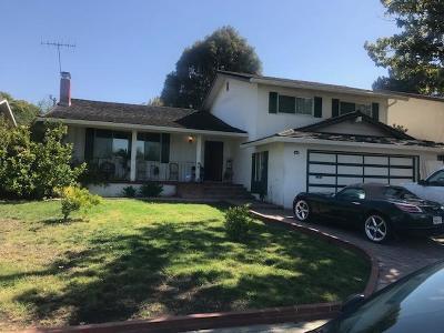 Sunnyvale Single Family Home Pending Show For Backups: 1048 S Mary Avenue