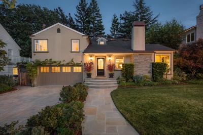 San Mateo Single Family Home For Sale: 451 Cornell Avenue