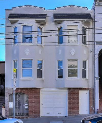 San Francisco Multi Family Home For Sale: 1356 Funston Avenue