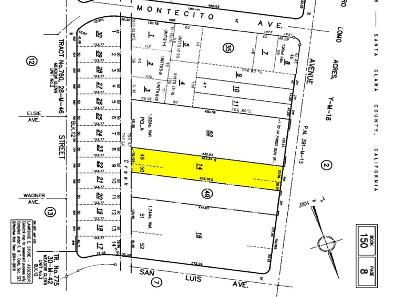 Mountain View Single Family Home For Sale: 345 Sierra Vista Avenue