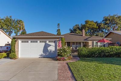 San Jose Single Family Home For Sale: 1571 De Anza Way