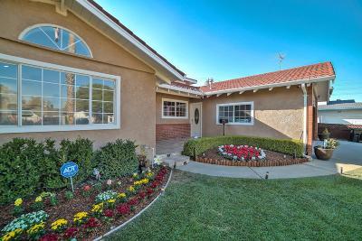 San Jose CA Single Family Home For Sale: $1,500,000