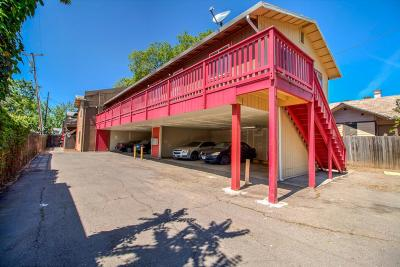 Stockton Multi Family Home For Sale: 527 N Edison Street