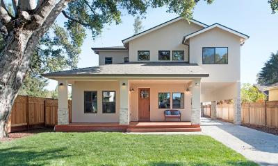 San Jose Single Family Home For Sale: 1232 Delmas Avenue