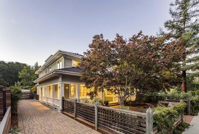 Palo Alto Single Family Home For Sale: 123 Tennyson Avenue