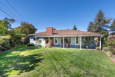 Mountain View Single Family Home For Sale: 1513 Melba Court