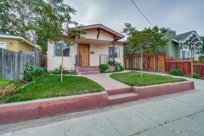 San Jose Single Family Home For Sale: 482 E Julian Street