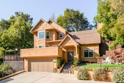 Burlingame Single Family Home For Sale: 2108 Summit Drive
