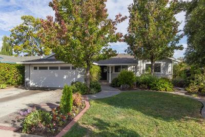 San Jose Single Family Home For Sale: 4467 Alex Drive