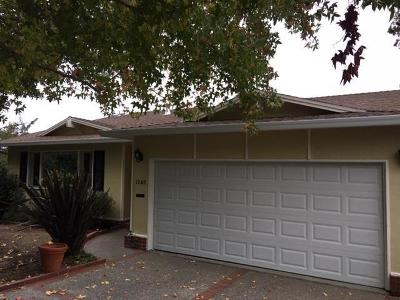 Burlingame Single Family Home For Sale: 1348 Skyview Drive