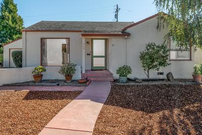 Santa Cruz Single Family Home Pending Show For Backups: 129 Belvedere Terrace