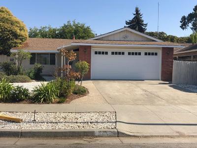San Jose CA Single Family Home For Sale: $799,999