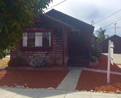 Santa Cruz Single Family Home For Sale: 235 Trescony Street