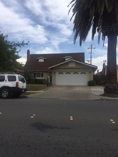 Milpitas Single Family Home For Sale: 1296 Yosemite Drive