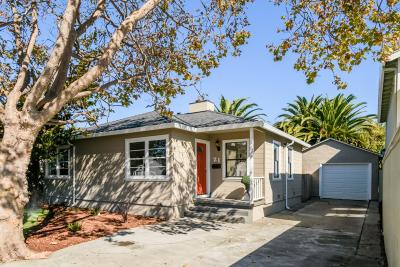 San Mateo Single Family Home For Sale: 21 S Norfolk Street