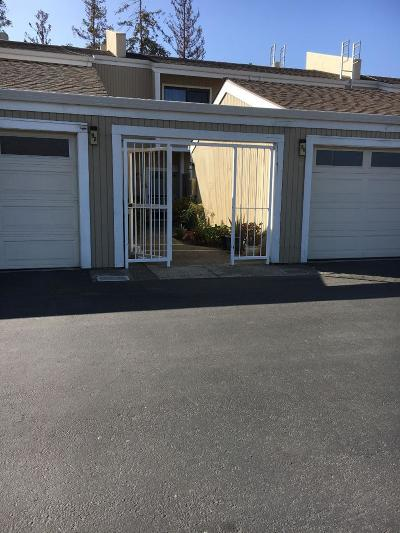 Milpitas Condo/Townhouse For Sale: 92 Marylinn Drive