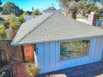 Santa Cruz Single Family Home Pending Show For Backups: 415 7th Avenue