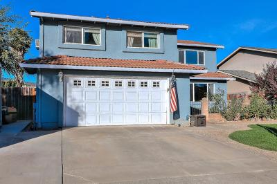 Gilroy Single Family Home For Sale: 6455 Hastings Place
