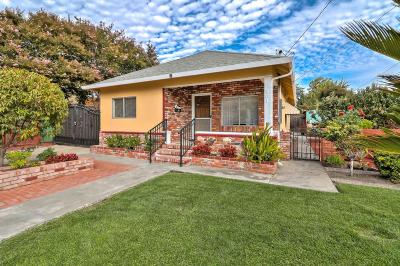 Mountain View Single Family Home For Sale: 201 Granada Drive