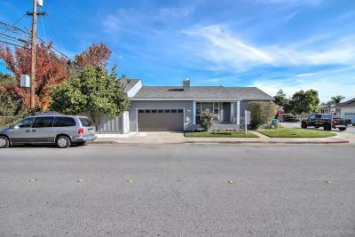 San Mateo Single Family Home For Sale: 3445 Curtiss Street