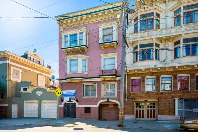 San Francisco Multi Family Home For Sale: 239 Clayton Street