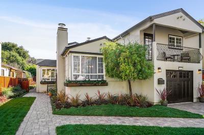 Millbrae Single Family Home For Sale: 731 Taylor Boulevard