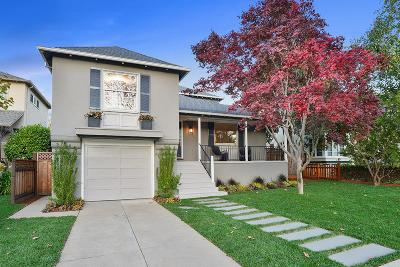 Burlingame Single Family Home For Sale: 450 Marin Drive
