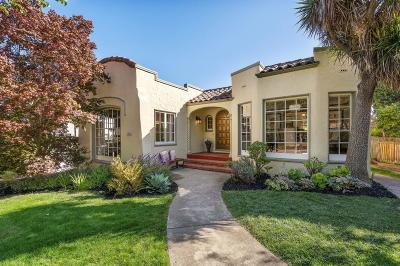 Burlingame Single Family Home For Sale: 2305 Adeline Drive