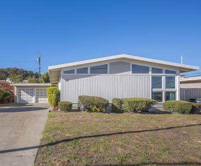 Millbrae Single Family Home For Sale: 810 Brookside Lane