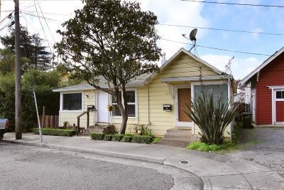 Santa Cruz Multi Family Home For Sale: 215 & 217 Roberts Street