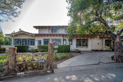 Burlingame Single Family Home For Sale: 1385 Hillside Circle