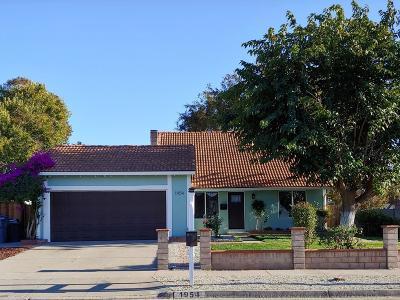 San Jose Single Family Home For Sale: 1954 Lowney Way