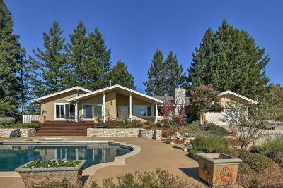 Los Gatos Single Family Home For Sale: 24846 Skyland Road