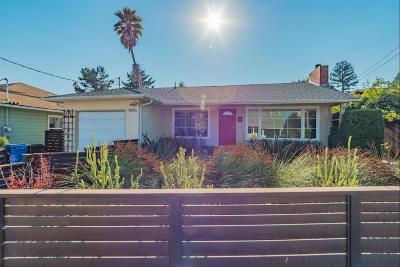 Santa Cruz Single Family Home For Sale: 1715 Bay Street