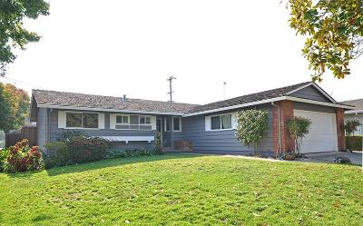 Sunnyvale Single Family Home For Sale: 1102 Vasquez Avenue