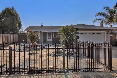 Fremont Single Family Home Pending Show For Backups: 4532 Alhambra Drive