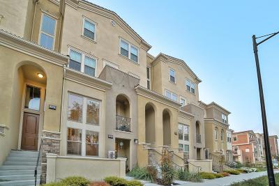 Milpitas Condo/Townhouse For Sale: 1931 Journey Street