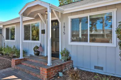Santa Cruz Single Family Home For Sale: 1815 Delaware Avenue