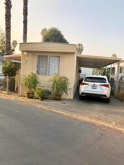 San Jose Mobile Home For Sale: 411 Lewis Road